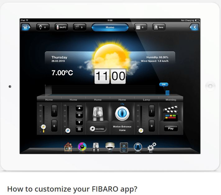How to customize your FIBARO app?
