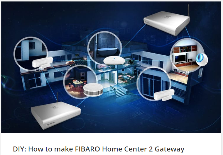 How to make FIBARO Home Center 2 Gateway
