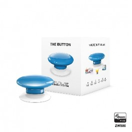 Z-wave Plus - Fibaro The Button - blue  ( Blå ) FIBEFGPB-101-6