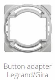 Fibaro Switch Button Adapter Legrand/Gira 10-pack Walli