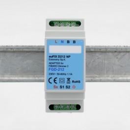 Z-Wave Plus - Fibaro Dimmer 2 for montering på Dinskinne EuFIX