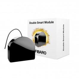 Z-Wave Plus - FIBARO Double Smart Module FGS-224 ( Med potentialfri udgange )