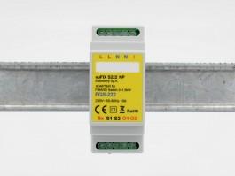 Fibaro Relay Insert 2 * 1.5 KW FGS-222 for montering på Dinskinne  ( Med potentialfri udgange ) EuFIX