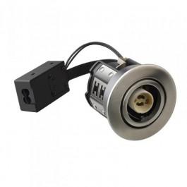 HiluX D10 Indbygningsspot Børstet Alu - Uden lyskilde