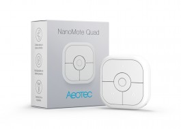 Z-Wave Plus - Aeotec NanoMote Quad AEOEZWA003