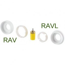 Danfoss Living adapter RAV/RAVL med pakdåse til Danfoss living  014G0250-S