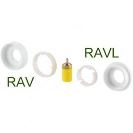 Danfoss Living adapter RAV/RAVL med pakdåse til Danfoss living  014G0250-S