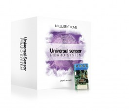 Fibaro  Z-Wave Universal Binær sensor  FGBS-001-S
