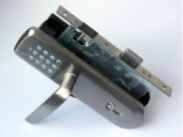 Vision Door Lock with Handle