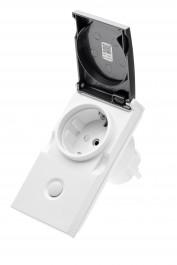 Z-Wave Plus -  POPP Smart Outdoor Plug IP44