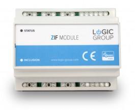 Z-Wave Plus -  Dansk Z-Wave DIN-skinne modul til f.eks. Gulvarme styring  LHC5020/ZIF5020