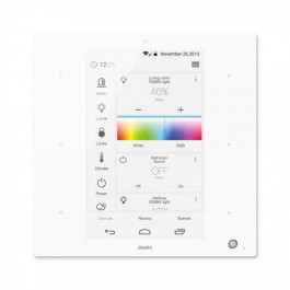 ZIPATO - ZipaTile Z-Wave+Zigbee Wall Controller all-in-one White