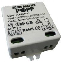 POPP External Mains Adapter for POPP Smoke Sensor POPE004001