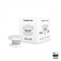 Z-wave Plus - Fibaro The Button - white  ( Hvid ) FIBEFGPB-101-1