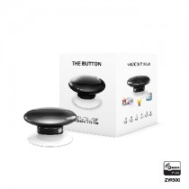 Z-wave Plus - Fibaro The Button - black  ( Sort ) FIBEFGPB-101-2