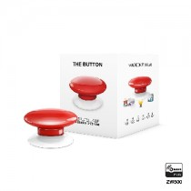 Z-wave Plus - Fibaro The Button - red  ( Rød ) FIBEFGPB-101-3