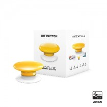 Z-wave Plus - Fibaro The Button - yellow  ( Gul ) FIBEFGPB-101-4