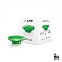 Z-wave Plus - Fibaro The Button - Green ( Grøn )