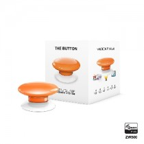 Z-wave Plus - Fibaro The Button - orange  ( Orange ) FIBEFGPB-101-8