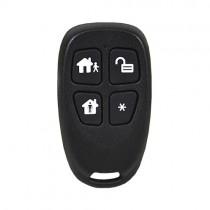 Vera Secure 2GIG 4-Button Key Ring Remote 433MHz