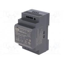 Din-Skinne strømforsyning 24VDC; 21.6÷29VDC; 2.5A; 60W