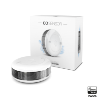 Z-Wave Plus - Fibaro CO og temperatur sensor  GEN5 FIBEFGCD-001