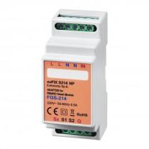 EUFIXS214NP DIN-adapter til FIBARO Smart Module FGS-214 ( Med potentialfri udgange )
