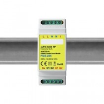 EUFIXS224 DIN-adapter til FIBARO Double Smart Module FGS-224 Eller FGS-222