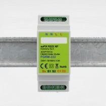 euFIX R223NP DIN-adapter til Fibaro Gardin/Persienne relæindsats Version 3 FGR-223