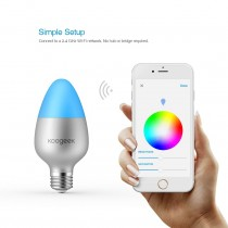 Apple HomeKit - Wi-Fi Koogeek Enabled Smart LED Light Bulb
