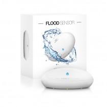 Z-wave Plus - GEN5 Fibaro Flood Sensor,Tilt,Tamper,Temperatur Sensor FIBEFGFS-101-ZW5-S