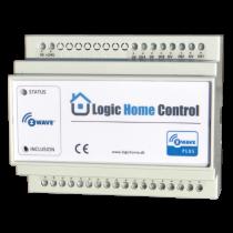 Z-Wave Plus -  Dansk Z-Wave DIN-skinne modul til styring af  f.eks. Lys eller Elvarme  LHC5028/ZIF5028