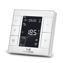 Z-Wave Plus - MCO Home - Electrical Heating Thermostat with humidity sensor and ext. sensor MCOEMH7H-EH