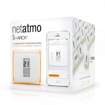 Netatmo Termostat V2 - termostat til smart home (Apple Homekit Godkendt)  NTH01-EN-EU