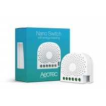 Z-wave Plus - Aeotec Nano Switch Med energi måling AEOEZW116