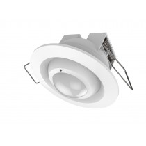 Z-Wave Plus  Fibaro Motion Sensor for indbygning i loft eller væg (Rund). Temp sensor, Light sensor, Acceleration