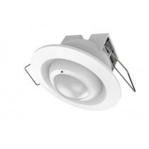Z-Wave Plus  Fibaro Motion Sensor for indbygning i loft eller væg (Rund). Temp sensor, Light sensor, Acceleration