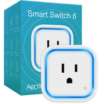 Z-Wave Plus - Z-Wave Aeon Labs Smart energy Smart Switch 6 - UKl  ( Med USB Lader )  AEOEZW096-UK