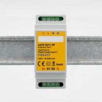 EuFIX S213NP DIN-adapter til Fibaro Single Switch 2 FGS-213