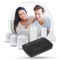 Tilbud til og med  d. 29-09-2018 Vera Secure + 3x Door/Window Sensor 433 MHz + 3x Motion Detector 433MHz