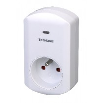 Z-Wave Plus TKB Wall Plug with Dimmer Function (Type E) TKBETZ67-F