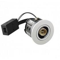 HiluX D10 Indbygningsspot Hvid Udendørs- Uden lyskilde