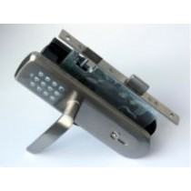 Z-Wave Door Lock with Handle
