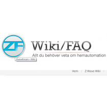 Z-wave Kompabilitets Guide Wiki